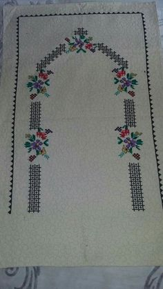 Cross Stitch Flowers, Decor, Needlepoint, Decoration, Decorating, Deco