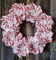 use just patterns, tighter flowers, re. Christmas Wreath 12 inch ...