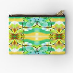 Zipper Bags, Zipper Pouch, School Pens, Colorful Candy, Pencil Bags, Pen Art, Small Bags, Psychedelic, Awesome