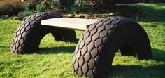 10 ways to reuse old tires. A couple are just - Pesquisa Google