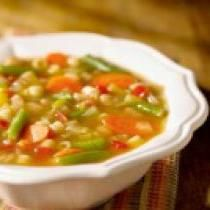 A Really Nice and Healthy Vegetarian Minestrone Soup Recipe