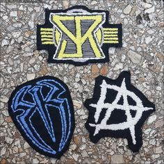 WWE Patches