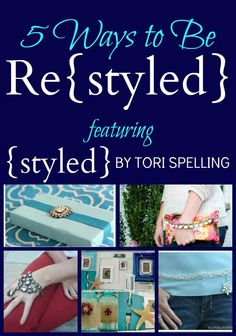 Check out these creative ways to repurpose the {styled} by Tori Spelling jewelry line, collected by Infarrantly Creative