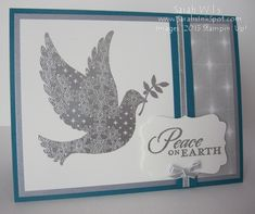 Silver Dove by sarahsinkspot - Cards and Paper Crafts at Splitcoaststampers