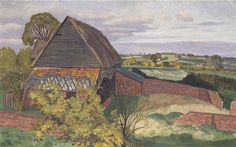 John Nash: The Barn, Wormingford