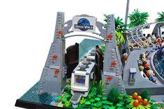 Lego Jurassic Park, Jurassic Park World, Legos, Lego Zoo, Lego Sculptures, Lego Bedroom, Kids Room Organization, Cool Lego, Calligraphy Art