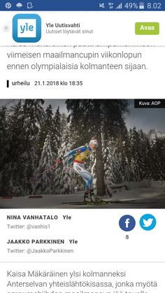 Twitter, Biathlon