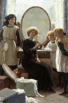 Percy Tarrant, The mirror