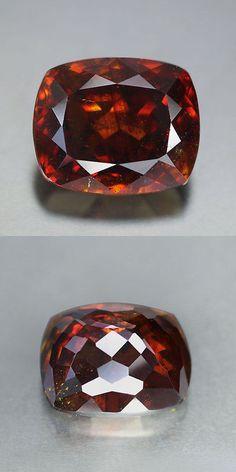 Sphalerite 181106: Rare Spain_Fire Volcano Orange Brown_32.76 Cts_Cushion Cut_Sphalerite_Ku355a73 -> BUY IT NOW ONLY: $1299.99 on eBay!