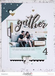 Layout *Gather* - Crate Paper / Maggie Holmes *Gather* - von Ulrike Dold