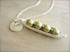 peas is a pod...have to get this for my mom for her 4 daughters! Wait, I have 4 kids too...I wouldn't say they quite enjoy each other to the level of peas in a pod. Someday they will!