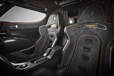 Koenigsegg One:1 sport seats