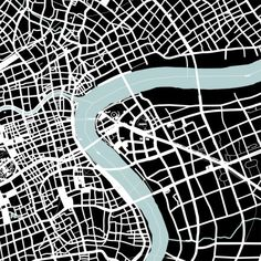 architecture plan figure-ground _ Shanghai