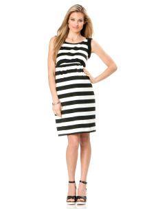 Sleeveless Empire Waist Maternity Dress