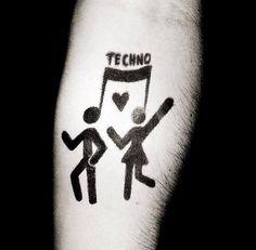 #techno #tattoo #couple