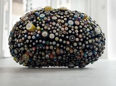 Batteries as sculpture.