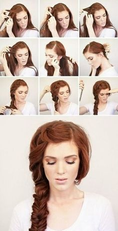 This look amazing, I am definitely going to try this hairstyle when I have longer hair!
