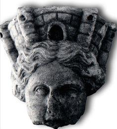 Testa di Tyche, I-II sec. d.C. (Ravenna, Museo Nazionale)