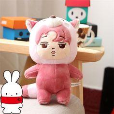 KPOP EXO Star Kim Jong In KAI Pink Coon Animal Plush Toy Stuffed Doll Collection | Entertainment Memorabilia, Music Memorabilia, Other Music Memorabilia | eBay!