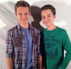 Hayden Byerly and Gavin Machintosh #Jonnor