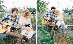 Love that Tay plays the guitar! We have to get pictures like this!