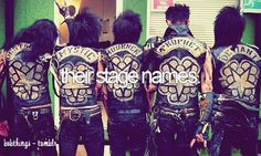 long leather wings. | BVB THINGS.