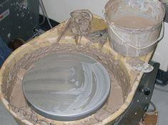 Homemade Potters Wheel thumbnail
