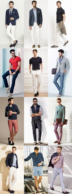 Top 5 Mens Summer Footwear Styles: 5.Driving Shoes Lookbook Inspiration