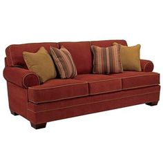 Shop for Broyhill Landon Burgundy Sofa. Get free shipping at Overstock.com - Your Online Furniture Outlet Store! Get 5% in rewards with Club O!