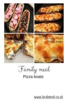 LarabeeUK: |FOOD|family meal, pizza boats