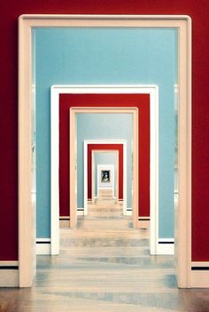 A Thousand Doors. by ginkonig Neue Pinakothek (New Pinakothek) art museum. Munich, Germany.