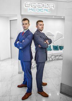 Założyciele Bejda Medical: Piotr Bejda i Michał Bejda