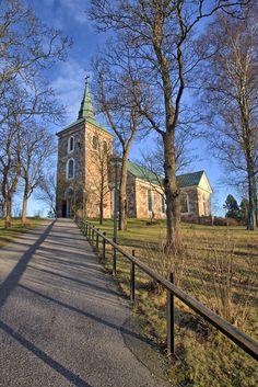 Salo-Uskelan kirkko - Salo-Uskela church in Salo, Finland on december 2015