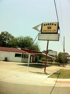 Baker's Drive In - McKinney Texas.  Walk up to the window to order, eat in your car. Totally worth it!