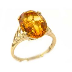 Beautiful citrine jewellery ring. A selection is always available at Gemoro Jewellery #Dubai