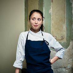 Paris's New Power Chefs are Women, and they are totally changing the restaurant scene. In the pic is chef Tatiana Levha.