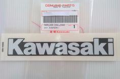 Kawasaki Mark 80mm Windshield Sticker Decal 100/% Genuine
