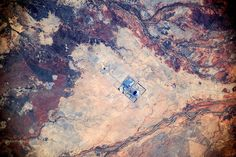 Ernest Henry copper & gold mine near Cloncurry, Queensland, Australia, -20.444385,140.718384. Picture: Cosmonaut Oleg Artemyev