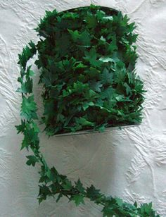 Ivy Roping Green Garland Wired PVC 27 yds Great for Poison Ivy Green Garland, Leaf Garland, Floral Garland, Flower Garlands, Vbs Themes, Dance Themes, Prom Themes, Greek Party Decorations, Greece Party