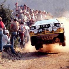Audi クアトロ   かっこ良かった