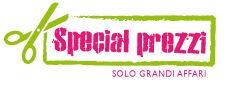 il logo in questione raffigura l azienda e il marchio di qualita' di special prezzi su promozione prodotti di alta qualita a prezzi bassisimi e concorrenziali
