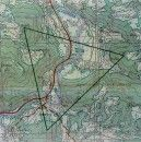 Topographic Map of the Visoko Region - Bosnia and Herzegovina - Courtesy of Cadastral Office of Municipality of Visoko