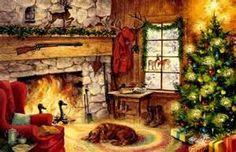 <b>Cozy</b> Retreat Fireplace Gifts Christmas Tree hd <b>wallpaper</b> #544691