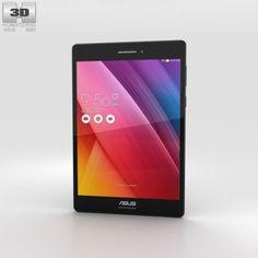 Asus ZenPad S 80 Black 3D Model .max .c4d .obj .3ds .fbx .lwo .stl @3DExport.com by humster3D