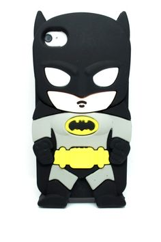 New Hot Cute 3D Super Hero Avenger Rubber Silicone Soft Case For iPhone 4/4S