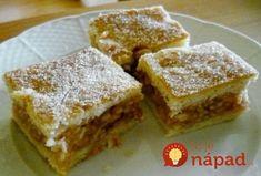 Hungarian Cake, Hungarian Recipes, Hungarian Food, No Bake Desserts, Healthy Desserts, Graham Crackers, Apple Pie, Food To Make, Cake Recipes