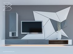 Wall Unit Designs, Living Room Tv Unit Designs, Tv Stand Designs, Tv Cabinet Design, Tv Wall Design, Hall Design, Bedroom Bed Design, Bedroom Furniture Design, Wooden Shelf Design