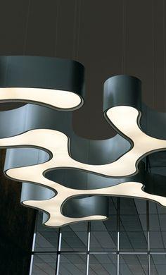Ameba de Vibia. Lampara modular. Disponible en Komoda Decoracion, a un paso de Bilbao