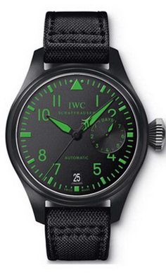 IWC Big Pilots Top Gun Boutique Edition Automatic Ceramic Mens Watch IW501903 (HK Retail Price: $155,000) Discount price: HK$115,000.