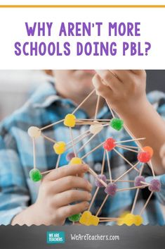 Why Aren't More Schools Doing PBL? Research shows project-based learning (PBL) is effective. So why aren't more teachers doing it? We look at PBL roadblocks. Home Learning, Learning Process, Project Based Learning, Student Learning, College Notebook, Teaching Philosophy, Teaching Jobs, Test Prep, Crush Quotes